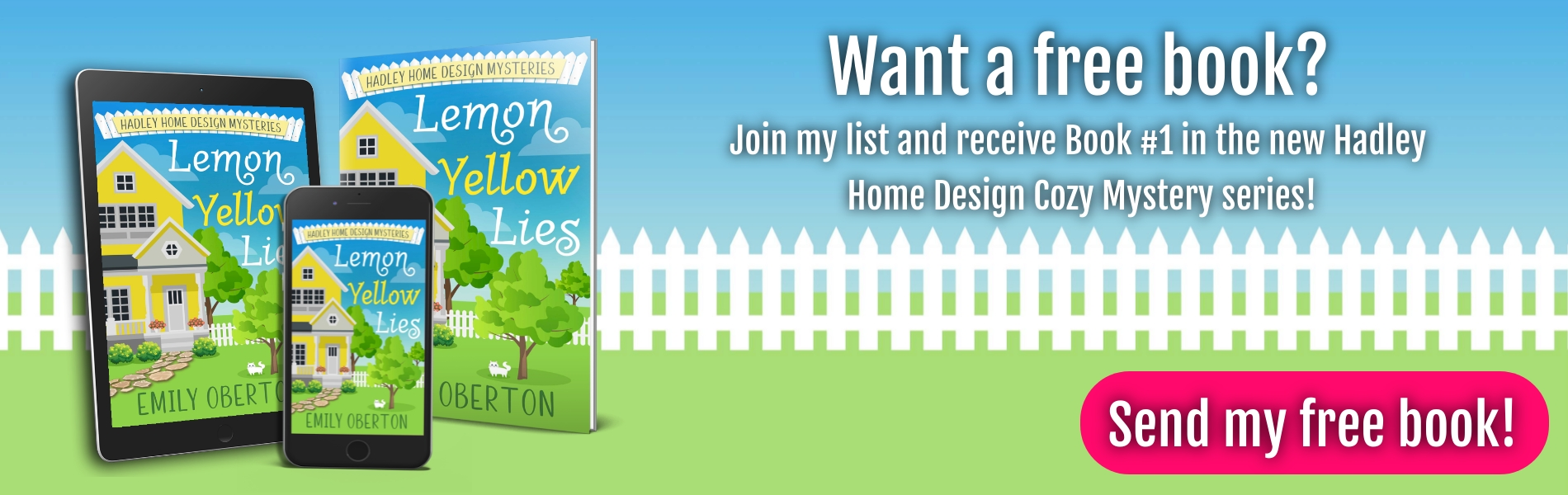 Download Lemon Yellow Lies when you join Emily Oberton's newsletter list